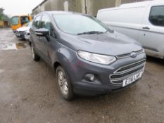 FORD ECO SPORT CAR REG: ET16 LHF, AUTOMATIC. TESTED TILL 15/12/2021. SOLD WITH V5 FIRST REGISTERED 1