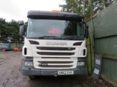 SCANIA P400 8X4 TIPPER LORRY REG:KM62 EHX. SEMI AUTO GEARBOX. 2013 REGISTERED. TESTED TILL MARCH 202