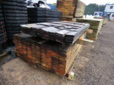 2 X PACKS OF UNTREATED TIMBER BOARDS 1.74M X 9CM APPROX.