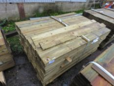 LARGE PACK OF FEATHER EDGE FENCE CLADDING. 1.5M LENGTH X 10.5CM WIDTH APPROX.
