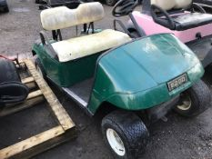 GREEN GOLF BUGGY, SPARES/REPAIR...INCOMPLETE