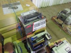 11 X VEHICLE RADIOS EX WORKS VANS (NOT AS PER BOXES SHOWN).