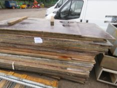 50NO APPROX PRE USED TIMBER BOARDS.