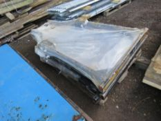 3 X COMPACT TRACTOR FOLDING ROLL FRAMES, UNUSED.