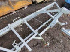 MENAGE LEVELLER FOR TRACTOR LINKAGE, 8FT WIDE APPROX. NO VAT ON HAMMER PRICE.