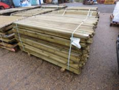 PACK OF TIMBER POSTS 5CM X 7CM X 1.73M APPROX.
