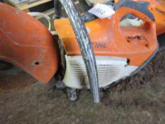 STIHL TS410 PETROL CUT OFF SAW WITH BLADE.
