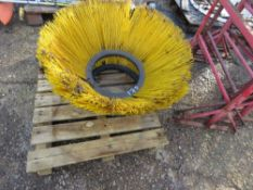 2 X ROAD SWEEPER BRUSHES.