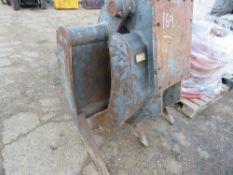 HEAVY DUTY MECHANICAL GRAPPLE FOR 20TONNE EXCAVATOR.
