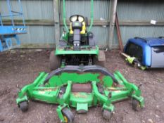 JOHN DEERE 1565 SERIES 2 OUT FRONT 4WD ROTARY MOWER, YEAR 2008 BUILD. 7 IRON V FLEX DECK FITTED