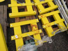 4 X FORKLIFT MOUNTING FRAMES SUITABLE FOR SNOW PLOUGH ETC.