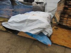 2 X PACKS OF WRAPPED UNTREATED SHIPLAP CLADDING TIMBER BOARDS, 1.86M X 8.5CM WITH A SINGLE TONGUE FO