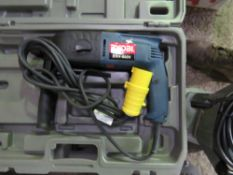 3 X RYOBI SDS 110 VOLT DRILLS. SOURCED FROM DEPOT CLEARANCE DUE TO A CHANGE IN COMPANY POLICY.