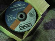 QUANTITY OF CUTTING/GRINDING DISCS.