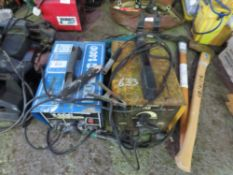 2 X ARC WELDERS. UNTESTED, CONDITION UNKNOWN.