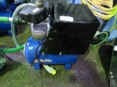 110VOLT WATER PUMP WITH PRESSURE TANK.