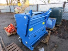 MOWER 5CH-120 HIGH DISCHARGE FLAIL MOWER COLLECTOR MOWER YEAR 2020. HEAVY DUTY HAMMERS FITTED. 1.2M