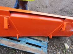 KUBOTA M1816E FRONT END LOADER BUCKET, UNUSED.SOLD UNDER THE AUCTIONEER'S MARGIN SCHEME, THEREFORE N