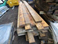 LARGE PACK OF PRE USED TIMBER 8FT-14FT APPROX.