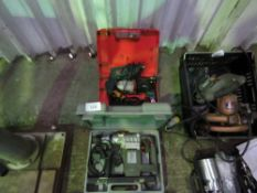 3 X ELECTRIC DRILLS.