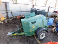 PETROL ENGINED TOWED WINCH UNIT.