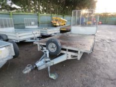 IFOR WILLIAMS LT146G BEAVER TAILED TWIN AXLE PLANT TRAILER. SN:SCK40000070515837. PREVIOUS COUNCIL U
