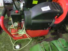 RED 110VOLT POWERED MINI COMPRESSOR.