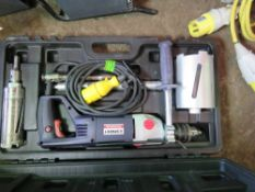 SPARKY CORE DRILL SET IN BOX.