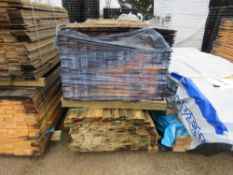2 X PACKS OF UNTREATED SHIPLAP FENCE CLADDING, 1.55M AND 1.76M X 10CM.