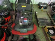 TORO DUAL FORCE 76CM CUT MOWER. WHEN TESTED WAS SEEN TO RUN AND DRIVE BUT CUTTING NOT ENGAGING....CA