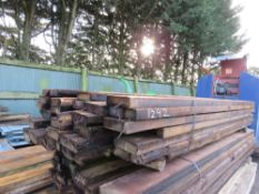 """MBERS, 8-9FT LENGTH APPROX 40NO 7""""X2"""" TIMBERS, 8-9FT LENGTH APPROX."""