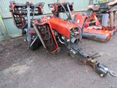 NB: BID INCREMENT NOW £50 !!!TORO TM7490 TOWED 7GANG MOWERS, YEAR 2012 BUILD APPROX.