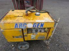 ARCGEN DIESEL ENGINED WELDING PLANT.