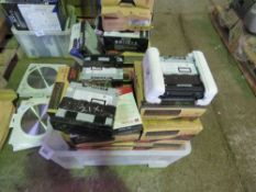 20 X VEHICLE RADIOS EX WORKS VANS (NOT AS PER BOXES SHOWN).