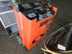 SUPERSTART 520 12/24 STARTER CHARGER. UNTESTED, CONDITION UNKNOWN.