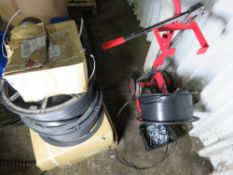 LARGE QUANTITY OF BANDING/STRAPPING EQUIPMENT.
