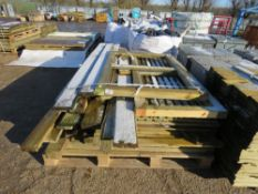 LARGE PACK OF USEFUL TIMBERS PLUS PANELS ETC. 13FT MAX LENGTH TIMBERS APPROX.