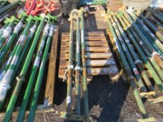 3 X ACROW TYPE SUPPORT PROPS. DIRECT FROM LOCAL COMPANY DUE TO CLOSURE OF SMALL PLANT HIRE PART OF T
