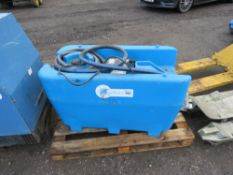 TECHNEAT 220LITRE ADBLUE BOWSER WITH 12 VOLT PUMP, IDEAL FOR PICKUP TRUCK.