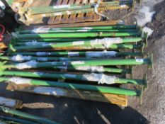12 X STANDARD LENGTH ACROW TYPE SUPPORT PROPS, LITTLE USED/UNUSED. DIRECT FROM LOCAL COMPANY DUE TO