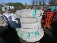 "PALLET CONTAINING 6 X ROLLS OF 2"" SUCTION HOSE."