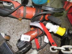 2 X HILTI 110VOLT ANGLE GRINDERS. SOURCED FROM DEPOT CLEARANCE PROJECT.