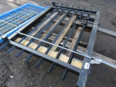 1X BARBICAN SITE YARD SECURITY GATE. 1.56M HEIGHT X 1.56M WIDE APPROX .( PALLET A)