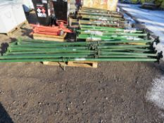 10 X LONG REACH ACROW TYPE SUPPORT PROPS. DIRECT FROM LOCAL COMPANY DUE TO CLOSURE OF SMALL PLANT HI