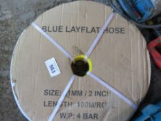 "ROLL OF 2"" LAY FLAT HOSE, 100 METRES LENGTH."