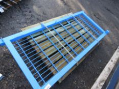 1X EUROGARD S SECURITY GATE. 1.8M HEIGHT X 0.9M WIDE APPROX .( PALLET C)