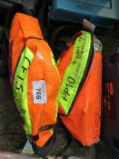 2 X DRAGER EMERGENCY AIR SUPPLY SETS, UNTESTED. SOURCED FROM SITE CLEARANCE PROJECT.