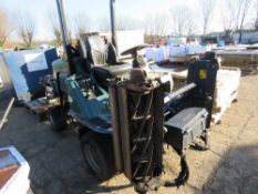HAYTER LT324 4WD TRIPLE MOWER. 3693REC HOURS, YEAR 2009. REG:LK59 JFX WITH V5. WHEN TESTED WAS SEEN