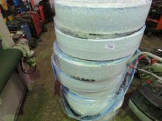 8 X ROLLS OF EWWELL SELF ADHESIVE GAP FILLING FOAM STRIP.