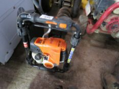 STIHL BT131 PETROL ENGINED POST HOLE BORER, LITTLE SIGN OF USEAGE. DIRECT FROM LOCAL COMPANY DUE TO